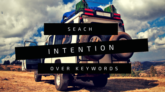 Search Intention over Keywords